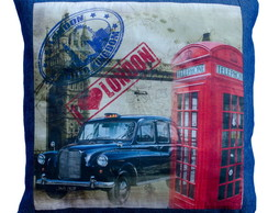 Almofada Jeans Londres 40x40