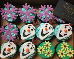 Mini Cupcakes - Frozen Fever