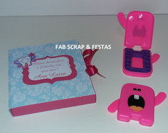 ALBUM DENTAL ROSA - DENTE DE LEITE
