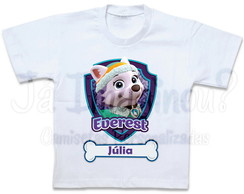 Camiseta Patrulha Canina Everest
