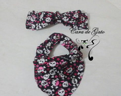 Babador Bandana + Tiara Pin Up