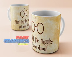 Caneca HARRY POTTER MUGGLES