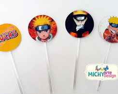 Toppers Para Doces - Naruto