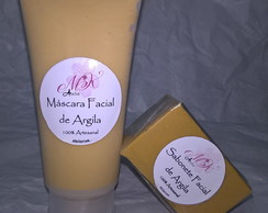 Kit Argila Máscara + Sabonete Facial