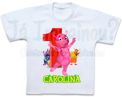 Camiseta Backyardigans Uniqua