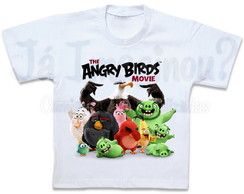 Camiseta Angry Birds Movie