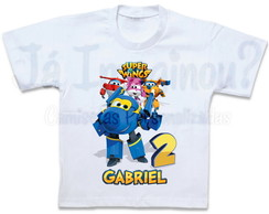 Camiseta Super Wings Jerome