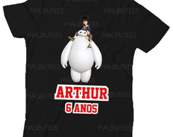 Camiseta Big Hero Aniversario Herois