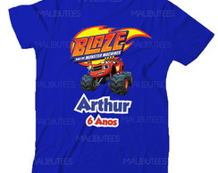 Camiseta Blaze Monster Aniversario