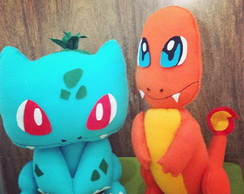 Pokemon - bulbasaur e charmander