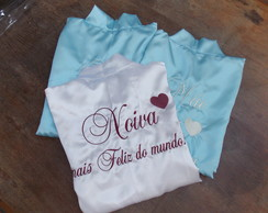 Kit Robe Noiva + 02 Robes Mães
