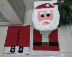 Jogo De Banheiro Croche Natal