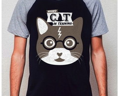 CAMISETA RAGLAN - CAT POTTER
