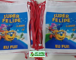Mochilinha Super Wings
