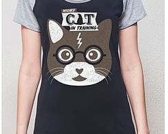BABY LOOK RAGLAN - CAT POTTER