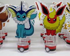 Tubete Pokemon aplique personagens