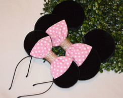 *Kit 3 Orelhas luxo Minnie Michey