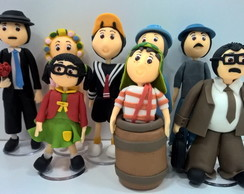 Conjunto Topinho de Bolo Turma do Chaves