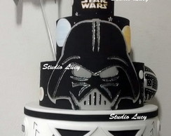 Bolo Star Wars Darth Vader NOVO