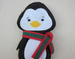 Enfeite pocket Pinguim