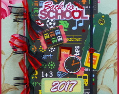 Agenda 2017 Scrapbook - Back To School