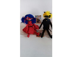 Boneca Lady bug e Cat noir