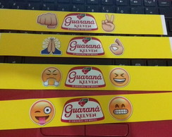 Rotulo Guarana Emoticons