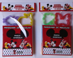 Kit Massinha de Modelar Minnie e Mickey