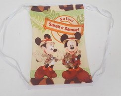 Mochila Mickey e Minnie Safari