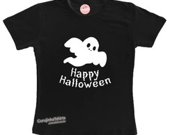 Camiseta/body Happy Halloween