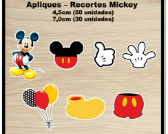 APLIQUE - RECORTE MICKEY
