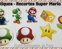 APLIQUE - RECORTE SUPER MARIO