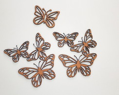 Chipboard - KIT Borboleta