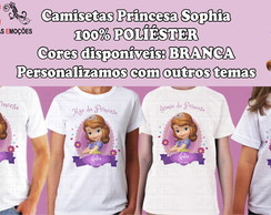 Kit Camisetas Princesa Sofia