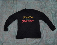 Camiseta Skate and destroy mangalonga