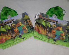 Ecobag Minecraft P