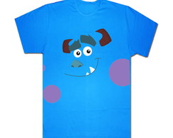Camiseta Adulto Sulley Monstros S/A 2