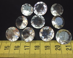 97cts 10pcs Cristal natural, 15-17 mm