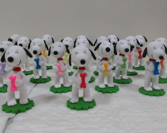 Lembrancinha Snoopy em Biscuit