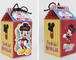 Caixa Milk Circo do Mickey
