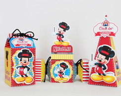 Kit Lembrancinha Circo do Mickey