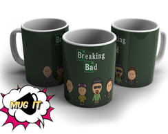 Caneca Branca Breaking Bad
