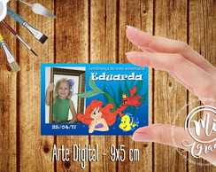 ARTE DIGITAL Pequena Serei (arte pronta)