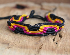 Pulseira Friendship Macramé