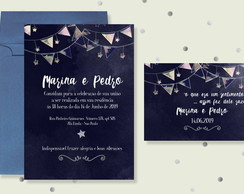Kit Digital Casamento - Midnight Sky