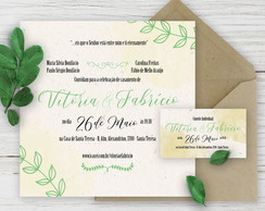 Kit Digital Casamento - Green Emerald