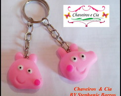 Chaveiro Peppa Pig Biscuit