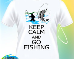 Camiseta Keep Calm end Go Fishing