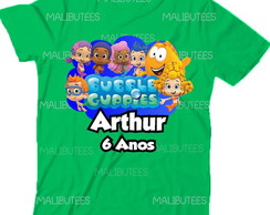 Camiseta Bubble Guppies Aniversario nome