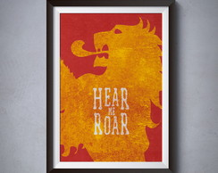 Poster House Lannister - 02